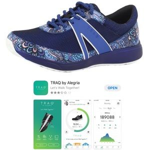 NEW Alegria TRAQ smart technology walking shoe 39